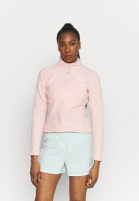 The North Face - GLACIER ZIP MONTEREY - Sweat polaire - evening sand pink - 0