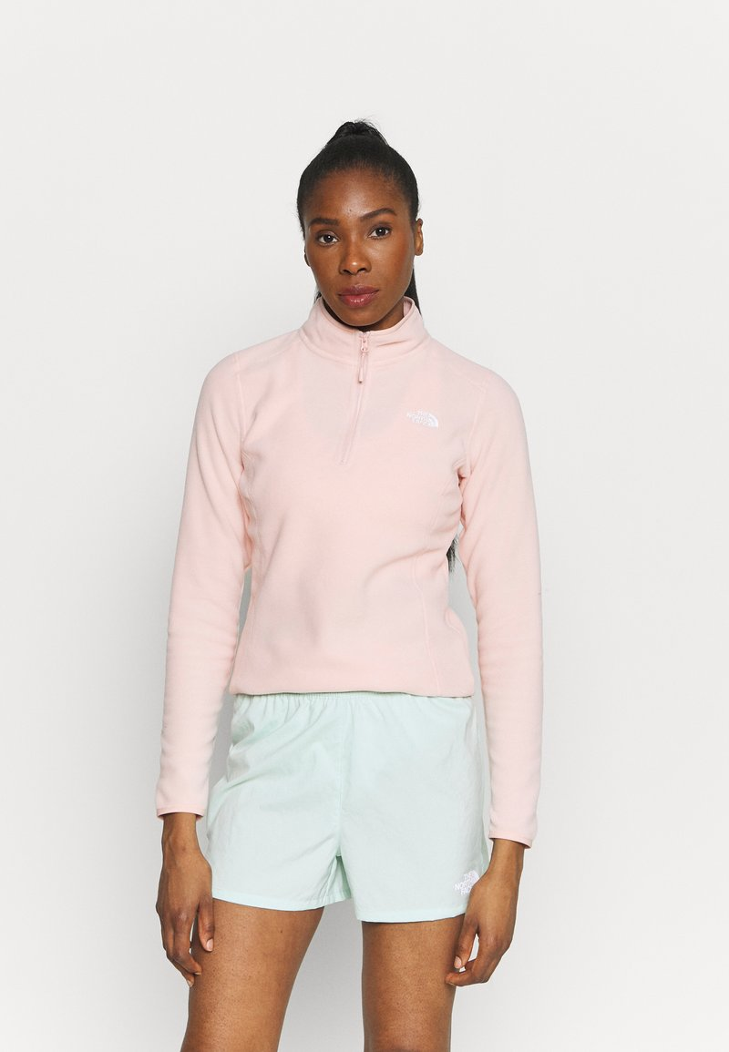 The North Face - GLACIER ZIP MONTEREY - Sweat polaire - evening sand pink