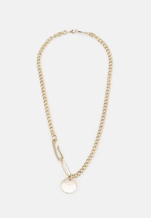 TRIBAL TECH CLASPS NECKLACE - Collana - gold-coloured