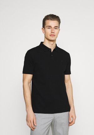 ORGANIC BRANDED - Polo shirt - black