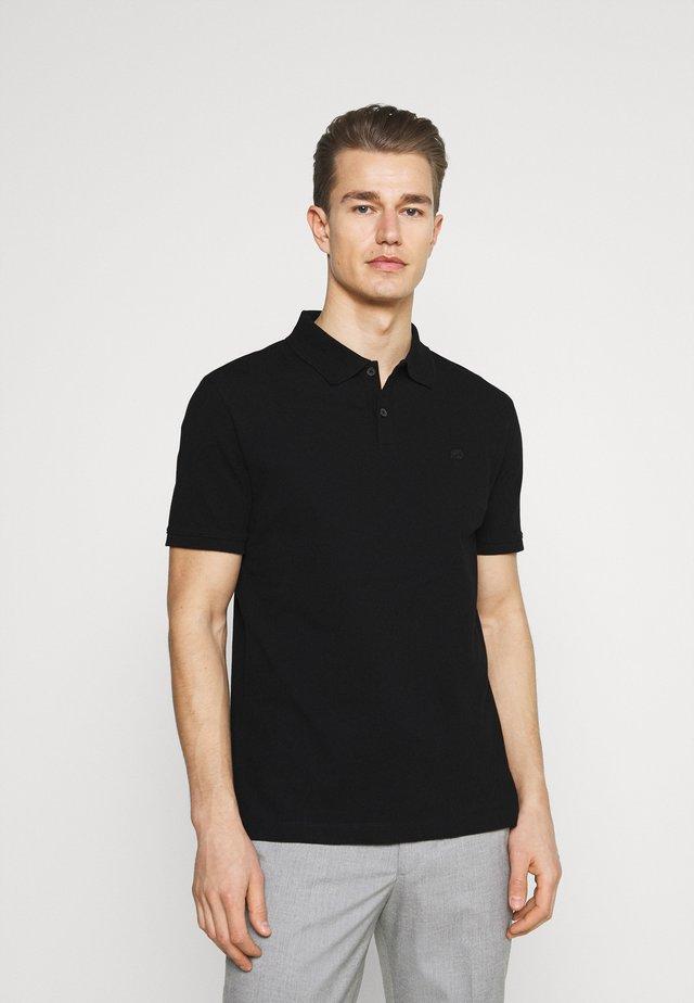 ORGANIC BRANDED - Poloshirt - black
