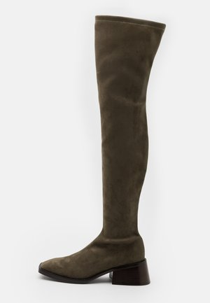 PATRIK  - Over-the-knee boots - khaki
