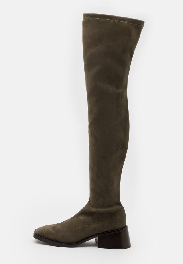 PATRIK  - Over-the-knee boots - khaki