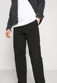 Carhartt WIP - WESLEY PANT NEWCOMB - Džíny Relaxed Fit - black - 3