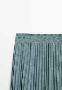 Massimo Dutti - MIT STRETCHBUND  - A-line skirt - light blue - 2