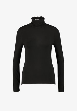 VMAVA LULU ROLLNECK BLOUSE - Long sleeved top - black
