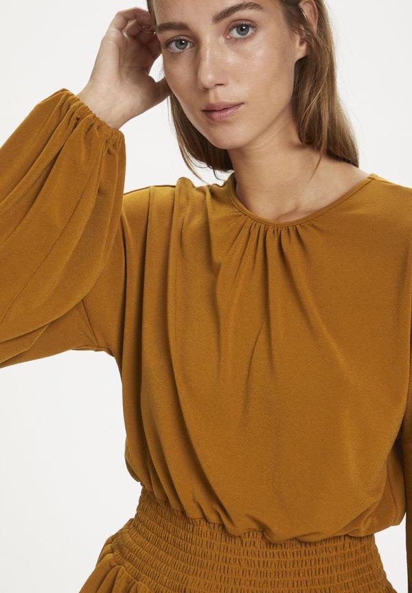 InWear CHRISTELIW - Bluzka - leather brown Odzież Damska OTXG EU 8