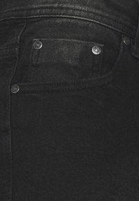 Denim Project - MR ORANGE - Jeans Short / cowboy shorts - black washed - 5