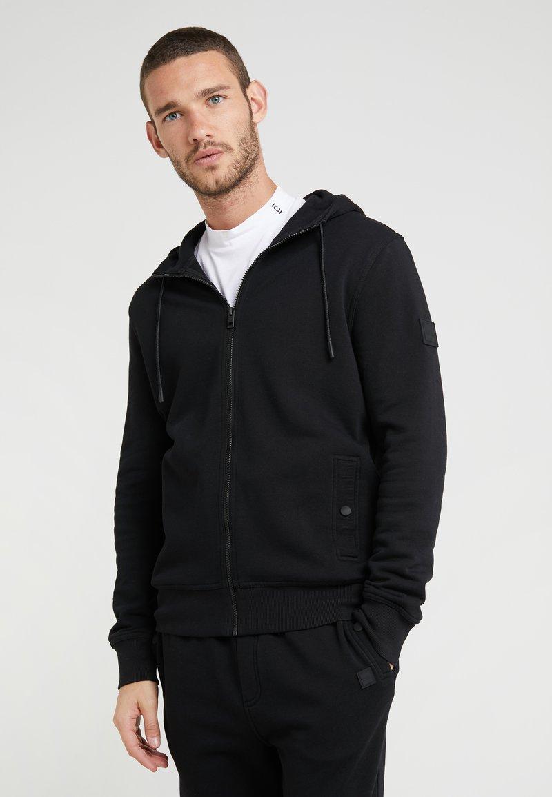 BOSS - ZOUNDS 10193350 01 - Zip-up hoodie - black