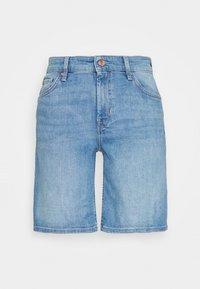 s.Oliver - Denim shorts - middle blu - 0