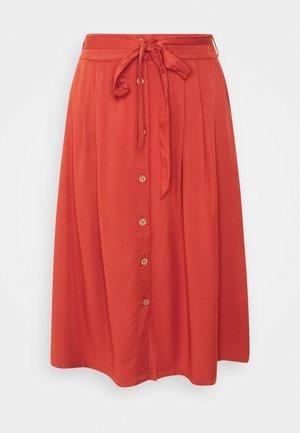 LEJLA - A-line skirt - terracotta