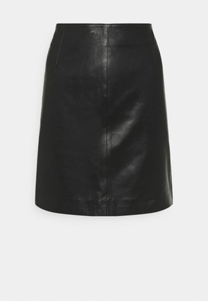 MOON SKIRT - A-line skirt - black