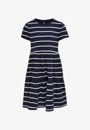 RÜSCHEN - Jersey dress - peacoat