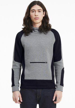 Kapuzenpullover - medium gray heather
