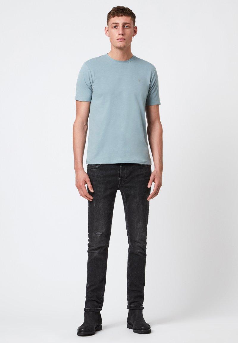 AllSaints - BRACE - Basic T-shirt - royal blue