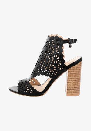 MANAROLA  - Korolliset sandaalit - black