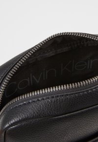 Calvin Klein - MINI REPORTER - Across body bag - black - 4