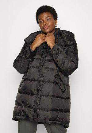 PERON - Classic coat - nero