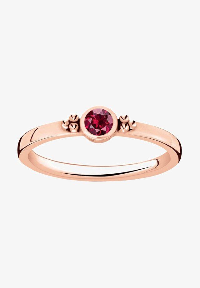 ROYALTY ROT ROSÈVERGOLDET - Ring - gold