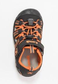 Kamik - CRAB - Walking sandals - black/orange/charcoal - 1