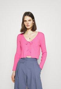 Trendyol - Cardigan - pink - 1