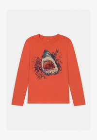 GAP - BOY VALUE GRAPHIC - Long sleeved top - fire coral - 0