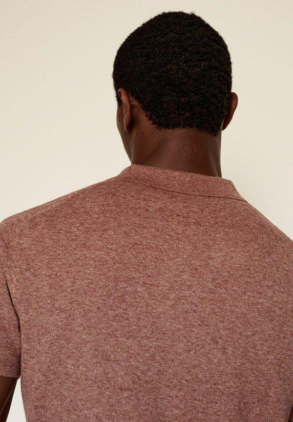 Mango ANDREW - Koszulka polo - red/czerwony Odzież Męska BCXY