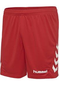 Hummel - DUO SET - Sports shorts - white/true red - 7