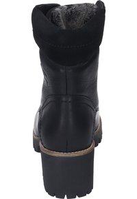 Panama Jack - Lace-up ankle boots - black - 2