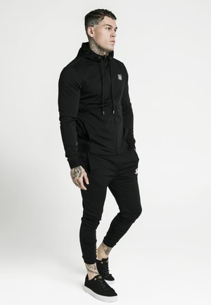 AGILITY ZIP THROUGH HOODIE - Verryttelytakki - black