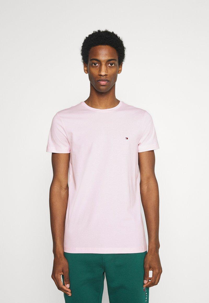 Tommy Hilfiger - STRETCH SLIM FIT TEE - T-paita - light pink