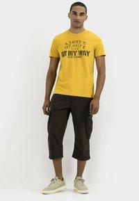 camel active - Print T-shirt - gold - 1