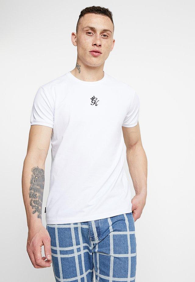 ORIGIN TEE - Printtipaita - white