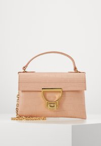 Coccinelle - MIGNON CROCO SHINY SOFT - Across body bag - rose - 0