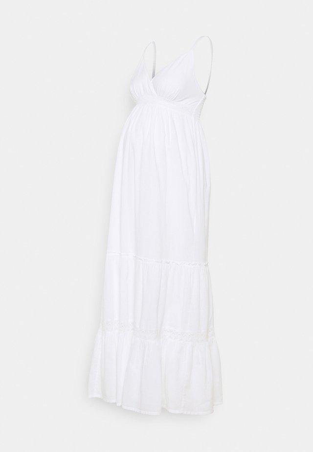 MELODY - Maxi-jurk - white