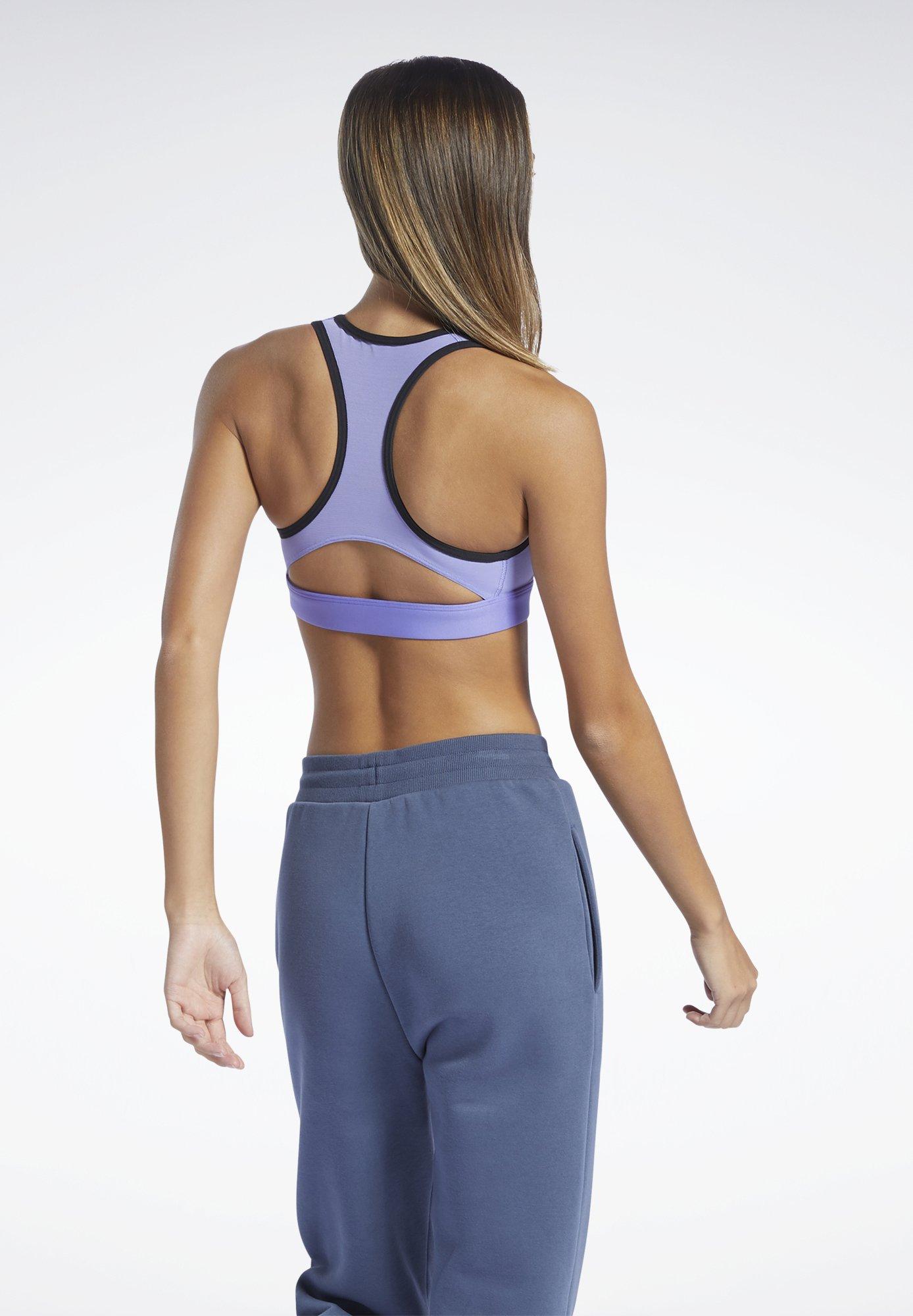 Women REEBOK LUX RACER MEDIUM-IMPACT SPORTS BRA - Medium support sports bra