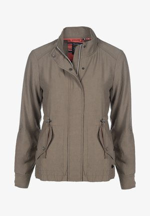 Summer jacket - stone green