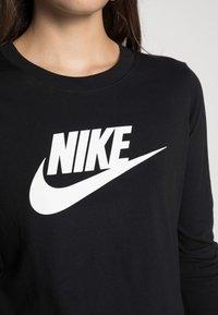 Nike Sportswear - TEE ICON - Maglietta a manica lunga - black/white - 4