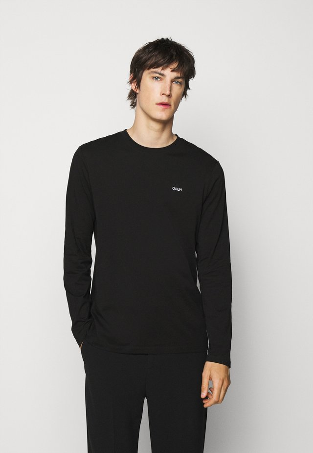 DEROL - Langærmede T-shirts - black