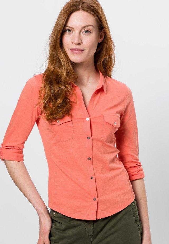 Overhemdblouse - apricot shine