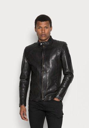 NERO - Leather jacket - black