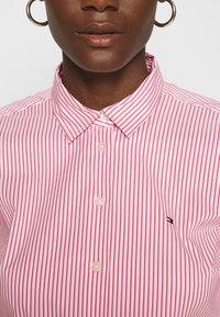 Tommy Hilfiger - SALLY  - Button-down blouse - tabi/radiant carmine - 5