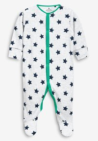 Next - STRIPE AND STAR SLEEPSUITS FIVE PACK (0MTHS-2YRS) - Pyžamo - green - 4