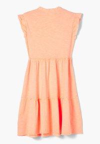 s.Oliver - Jersey dress - neon peach - 1