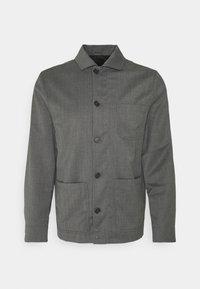 Filippa K - LOUIS GARBADINE - Lehká bunda - grey melange - 0