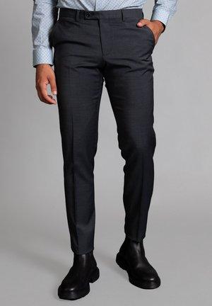 Suit trousers - anthrazit