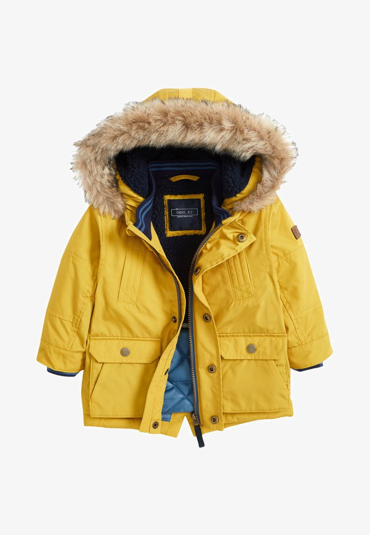 Next - Winter coat - yellow