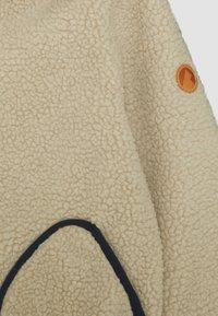 Finkid - TONTTU NALLE UNISEX - Fleece jacket - pebble/navy - 3