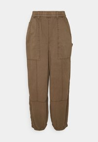 BDG Urban Outfitters - BAGGY PANT - Trousers - chocolate - 4