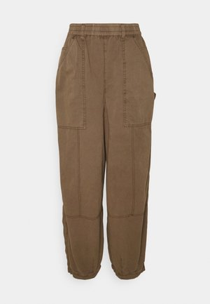 BAGGY PANT - Trousers - chocolate